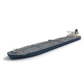 灰色货船3D模型【ID:915243830】