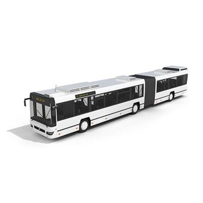 白色公交车3D模型【ID:915243872】