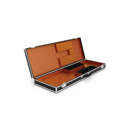 现代黑色长方形木艺箱子3D模型【ID:915244104】