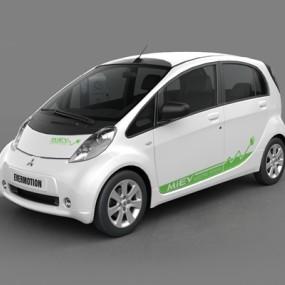 白色汽车3D模型【ID:915269712】