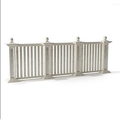 欧式简约灰色大理石栏杆3D模型【ID:915272198】