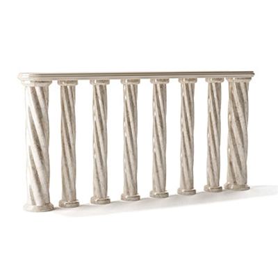 欧式简约大理石栏杆3D模型【ID:915273133】