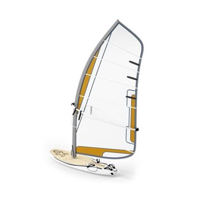 白色帆船3D模型【ID:915276970】