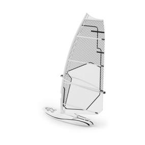 白色帆船3D模型【ID:915276974】