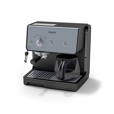 黑色咖啡机3D模型【ID:915277165】