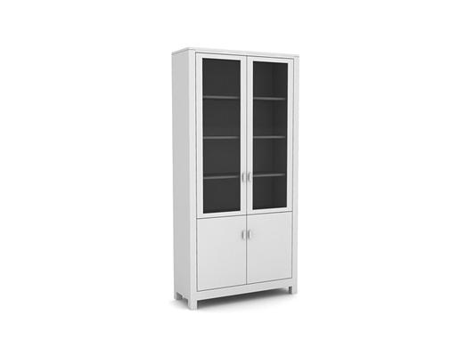 现代白模陈列柜3D模型【ID:915341257】