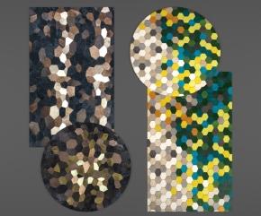 现代地毯3D模型【ID:427795021】