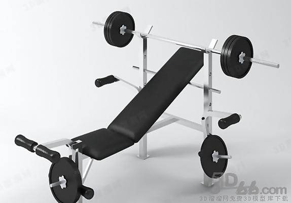 健身器材13D模型【ID:916920586】