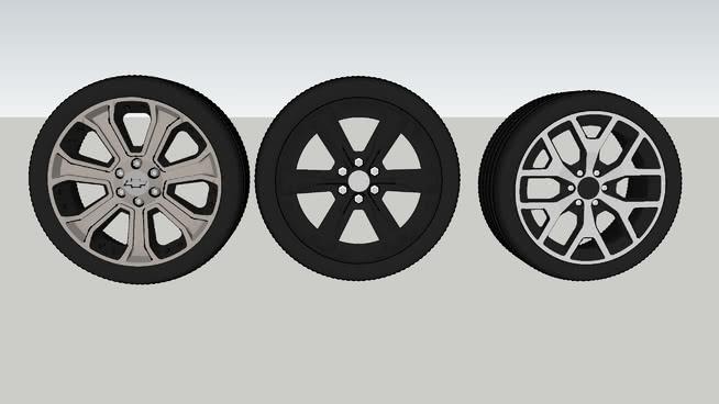 通用汽車的輪子20SU模型【ID:838440089】