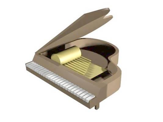 钢琴13D模型【ID:917095933】