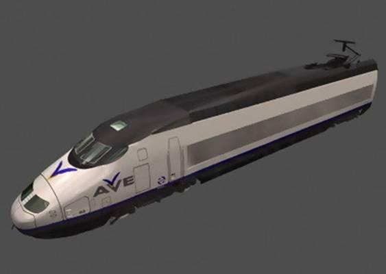 火车23D模型【ID:917119585】