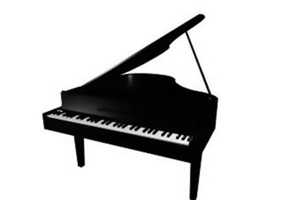 钢琴13D模型【ID:917121909】