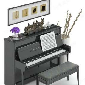 钢琴23D模型【ID:917121913】