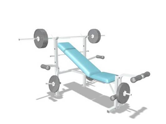 健身器材63D模型【ID:917124540】
