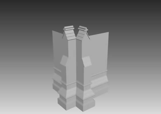 欧式构件23D模型【ID:917131244】