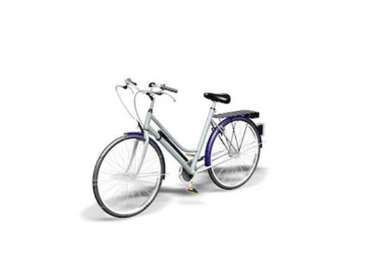 自行車13D模型【ID:917136117】