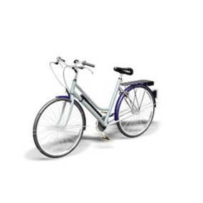 自行车13D模型【ID:917136117】