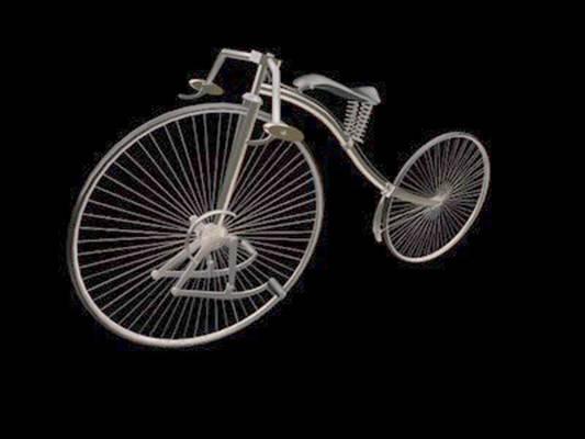 自行车23D模型【ID:917136118】