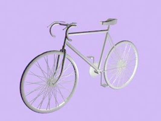 自行车43D模型【ID:917136119】