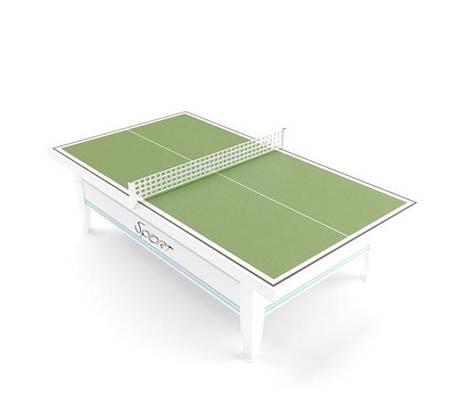 乒乓球桌13D模型【ID:917140330】