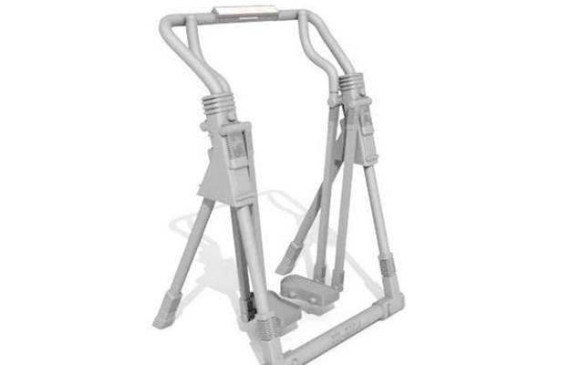 健身器材33D模型【ID:917145575】