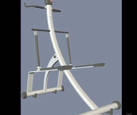 健身器材43D模型【ID:917145581】