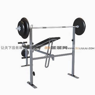 健身器材33D模型【ID:917175501】