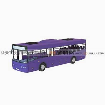公交车13D模型【ID:917176867】
