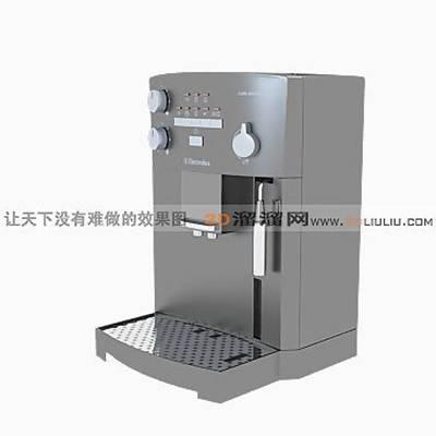 咖啡机13D模型【ID:917177193】