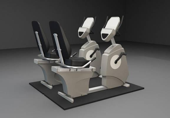 健身器材13D模型【ID:917185590】