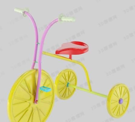 自行车13D模型【ID:917219137】