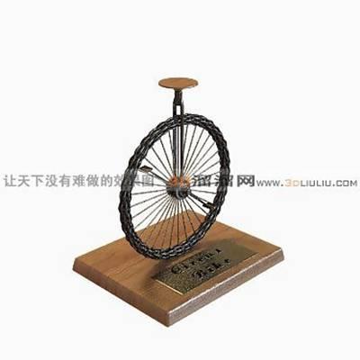 自行车53D模型【ID:917219158】