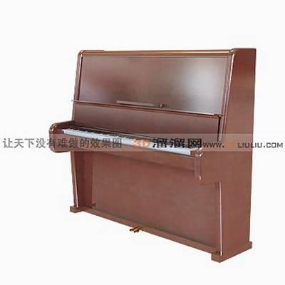 钢琴13D模型【ID:917227950】