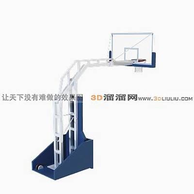 篮球架13D模型【ID:917251280】