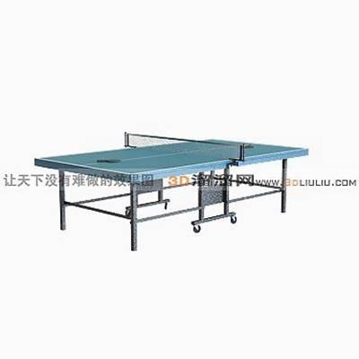 乒乓球桌23D模型【ID:917261327】