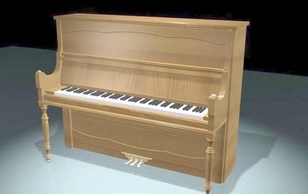 钢琴13D模型【ID:917266900】