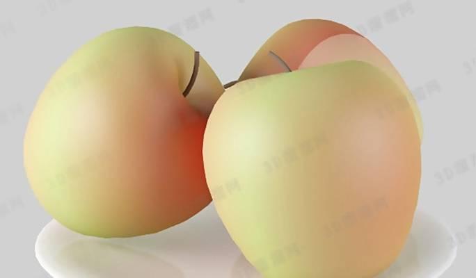 水果33D模型【ID:917306881】