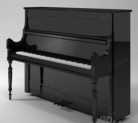 钢琴13D模型【ID:917315971】