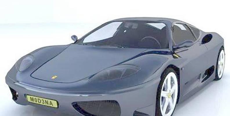 汽车283D模型【ID:917376716】