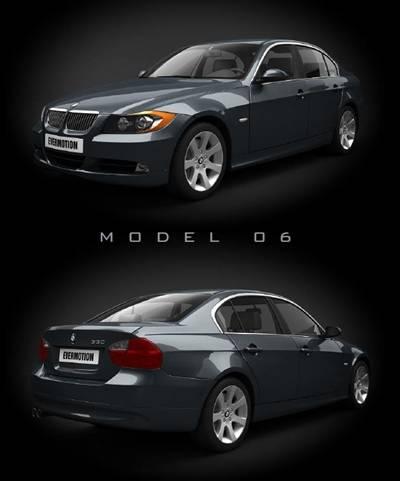 汽车443D模型【ID:917376749】