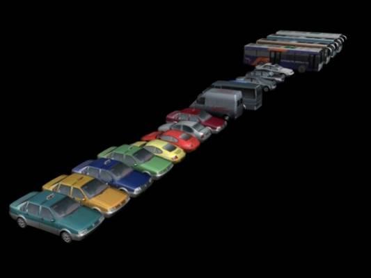 汽车453D模型【ID:917376752】