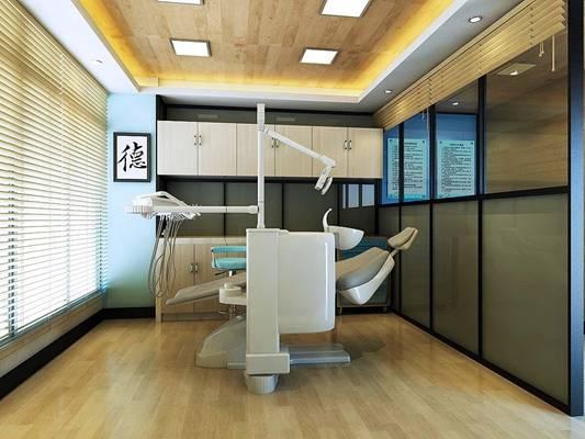 现代医院3D模型【ID:917503635】