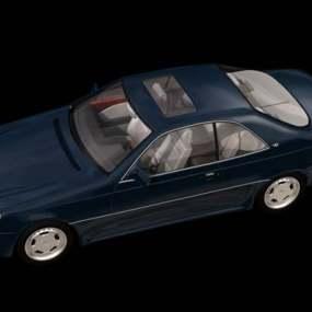 蓝色汽车3D模型【ID:917529777】