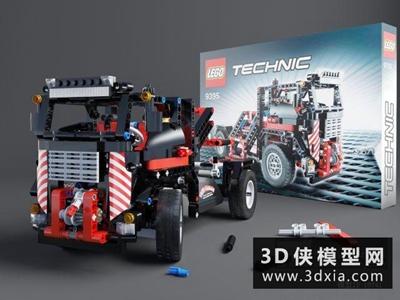 玩具汽车国外3D模型【ID:129573910】