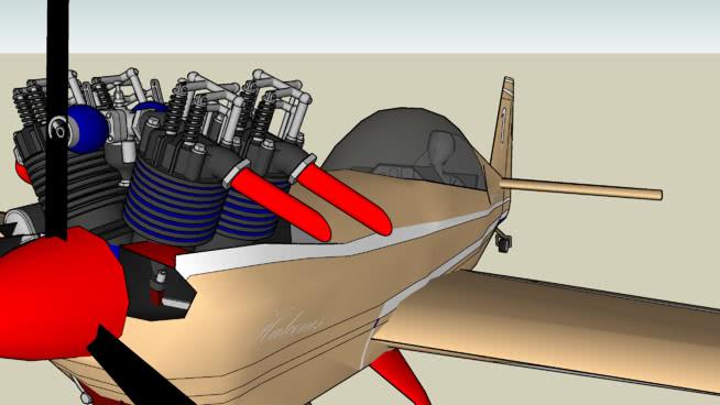 飞机SU模型【ID:740037499】