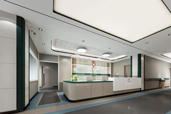 现代医院护士站3D模型【ID:928207669】