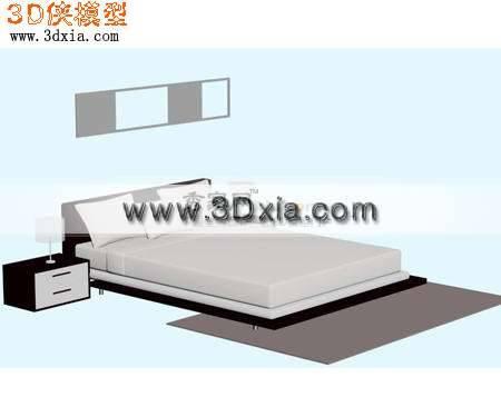 床3D模型【ID:9200】