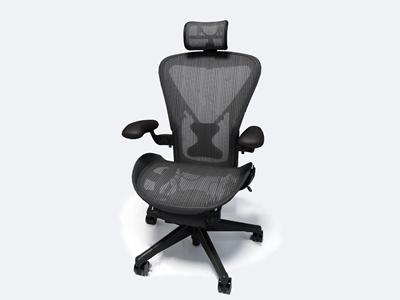 现代办公椅3D模型【ID:732413452】