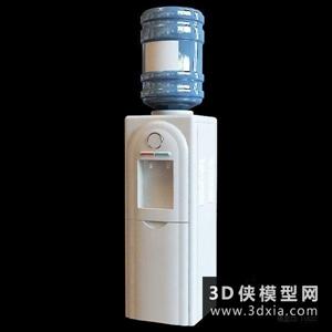 饮水机国外3D模型【ID:929847056】