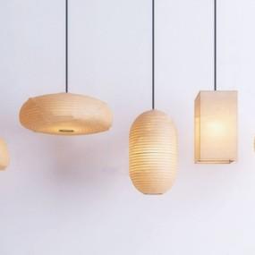 新中式禪意吊燈3d模型【ID:747856858】